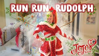 JoJo Siwa - Run Run Rudolph (OFFICIAL LIVE PERFORMANCE MUSIC VIDEO)