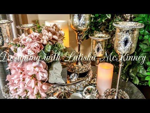 How To| DIY Bling Elegant Centerpieces| DIY Glam Wedding Ideas| DIY Bling Decor💎2018