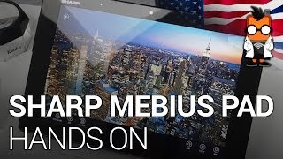 Sharp Mebius Pad Hands On http://www.mobilegeeks.com What we have h...