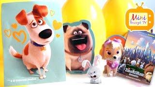 Sekretne Życie Zwierzaków Domowych Jajka Niespodzianki Zabawki Dla Dzieci