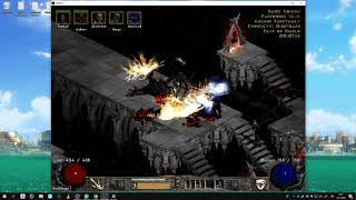 Path of Diablo S7 (Diablo 2 mod) - HC Necromancer 1 walkthrough part 8 ► 1080p 60fps No commentary