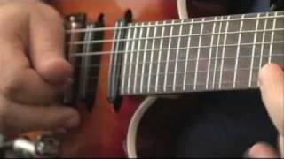 "Kamal Musallam - Ibanez ""Oriental Series"" signature guitars - Interview on The National 2010"