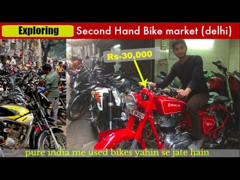 "🔥Exploring Used Bike Market ""Delhi"".Unbelievable  Cheapest Prices Of Sport Bikes"