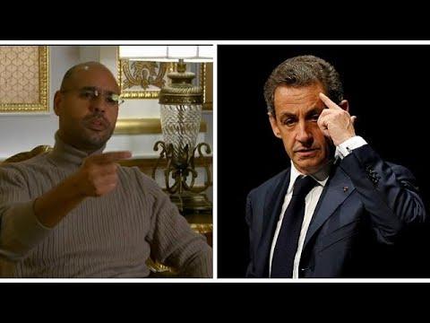 سيف الإسلام القذافي: -حبس ساركوزي جاء متأخرا ومستعد للإدلاء بشهادتي خلال محاكمته-…