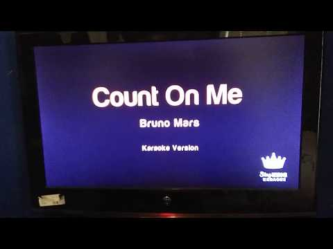 "Me singing karaoke- ""count on me"" by Bruno Mars- Destiny Thomas cover"