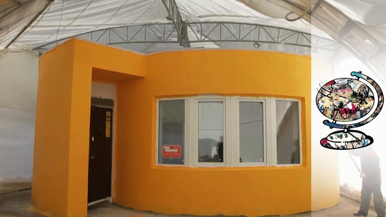 The World's First 3D-Printed House Could Help Fight Homelessness
