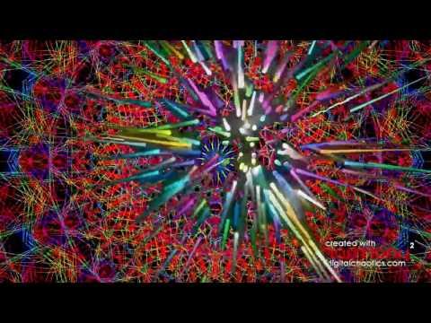 Crazy Visuals of Rotating Orbital Spikes