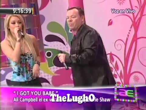 Ali Campbell UB 40 & Leslie Shaw - I Got You Babe [ Musical ] Voz En VIVO