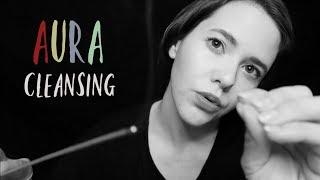 ASMR AURA CLEANSING ☆ Dark&Relaxing mit INAUDIBLE WHISPERING   deutsch/german