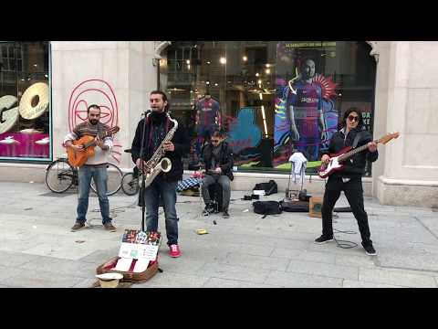 Amazing music artists from Barcelona street! [Part 3]