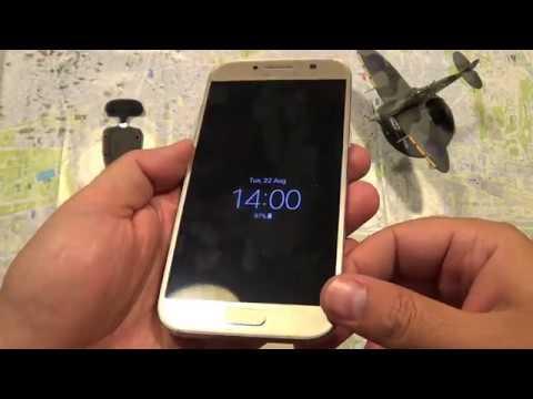huge discount 6e9e4 de0eb Samsung Galaxy A5 2017 Neon Flip Cover (Gold)