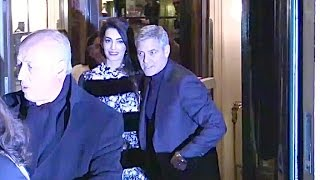 Baixar EXCLUSIVE : George Clooney and wife Amal go for diner at Laperouse restaurant in Paris