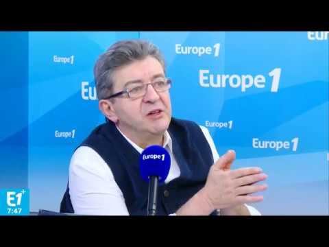 Jean-Luc Mélenchon sur Europe 1, le 15/03/2017 - partie 1