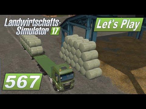 LS17 #567 Ballen stapeln leicht gemacht #Lets Play Landwirtschafts Simulator 2017 4fach mod map