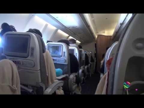 Singapore Airlines Economy, Brisbane to Singapore, Airbus A330