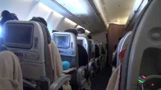 Singapore Airlines Economy, Brisbane to Singapore, Airbus A330