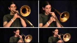 ariana grande the way trombone arrangement