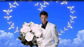 Букет из белых роз.