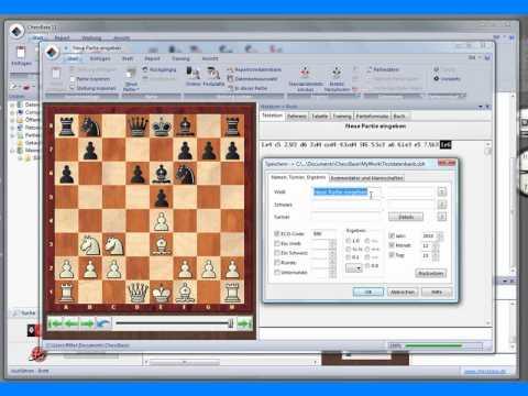 chessbase 11 partien in einer datenbank speichern oder. Black Bedroom Furniture Sets. Home Design Ideas