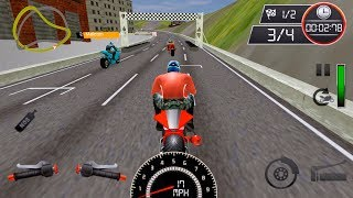 City Street Bike Racing: Xtreme Motorcycle Rider - Gameplay Android games