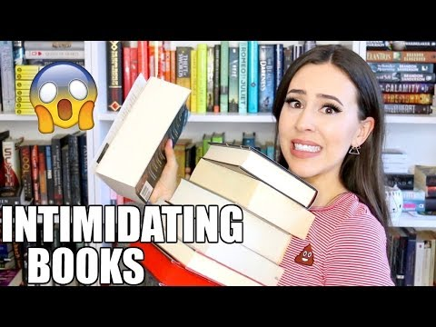 INTIMIDATING TBR BOOK TAG || Books with Emily Fox