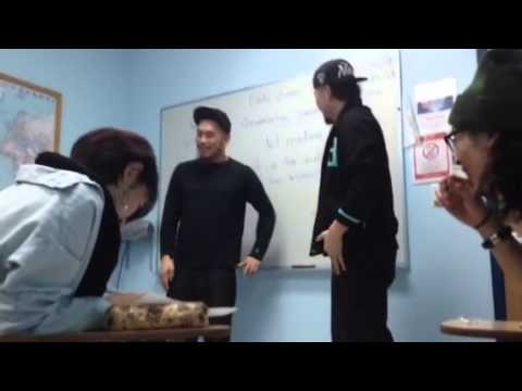 Japanese people learning English in N.Y.C