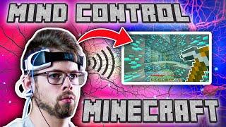 I Used My Brain Waves to Play Minecraft