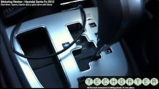 Motoring Review : Hyundai Santa Fe 2010 launch - first Drive, Specs and Interior