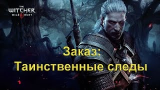 Заказ: Таинственные следы. The Witcher 3 Wild Hunt.