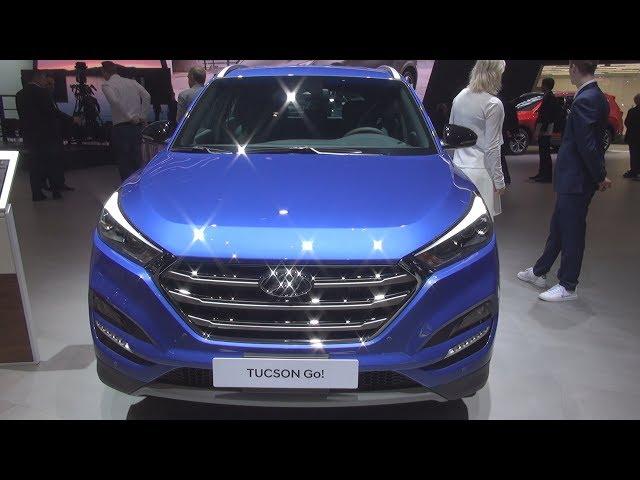 Hyundai Tucson 2.0 CRDi GO! Plus 4WD (2018) Exterior and Interior