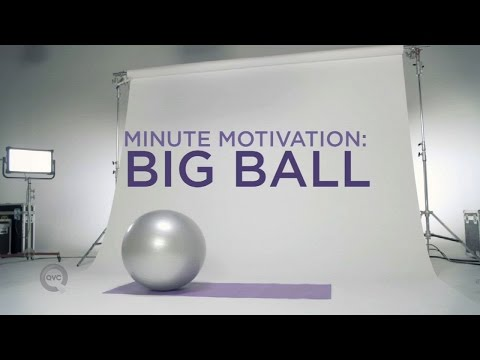 Full Body Exercise Ball Workout | Minute Motivation with Elise Ivy