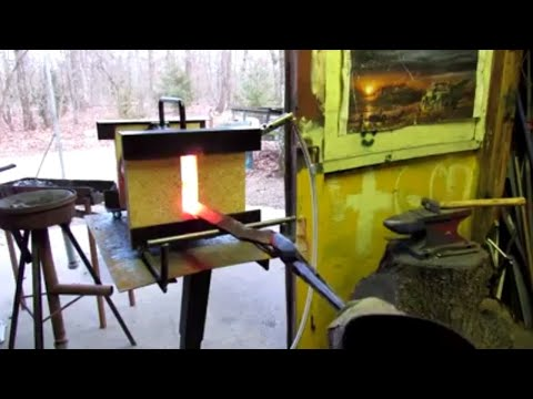 Mathewson Metals propane forge review.