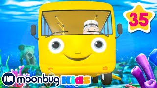 Wheels On The Bus Underwater | Plus More FUN Songs | WOW! | Little Baby Bum | Learning Baby Songs