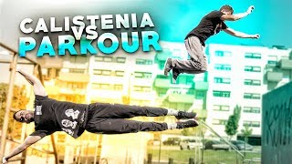 CALISTENIA VS PARKOUR CON ALEX SEGURA | STREET WORKOUT