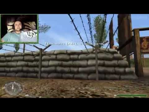 [ч.01] Прохождение Call of Duty с вебкой - Тренировка перед боем