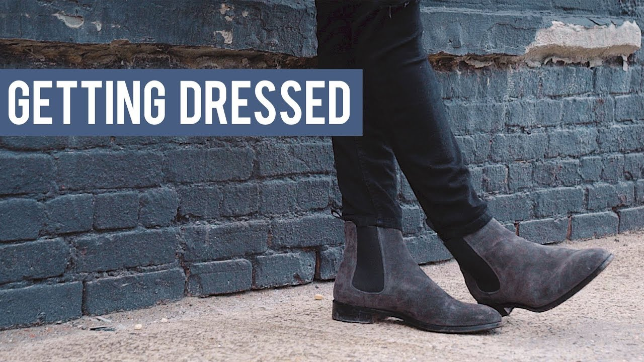 Men S Chelsea Boot Outfit Inspiration Getting Dressed Outfits