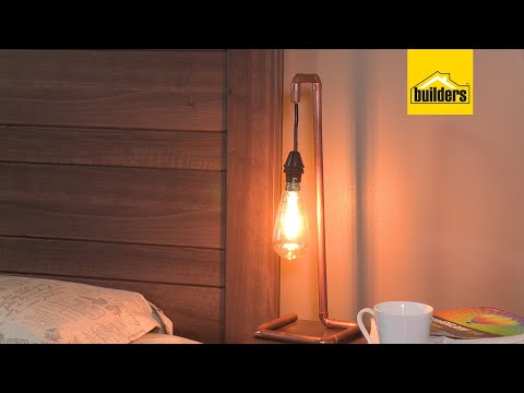 How to Make a Copper Pipe Lamp