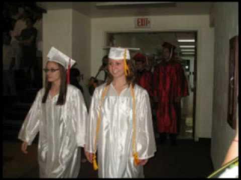 Hall High School graduation