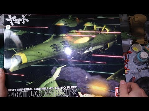 Bandai Space Battleship Yamato 1:1000 Gaiderol Battleship Full Build