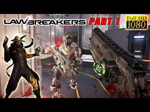 LawBreakers PC Multiplayer Gameplay - GUNSLINGER DOMINATION! - LawBreakers PC Walkthrough