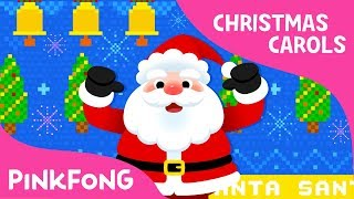 SANTA | Christmas Carols | Pinkfong Songs for Children