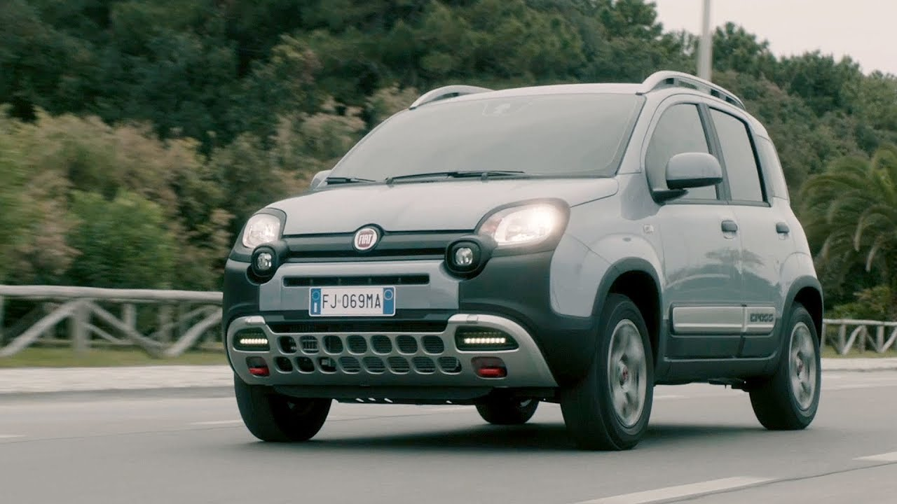 2017 fiat panda cross 4x4 youtube. Black Bedroom Furniture Sets. Home Design Ideas