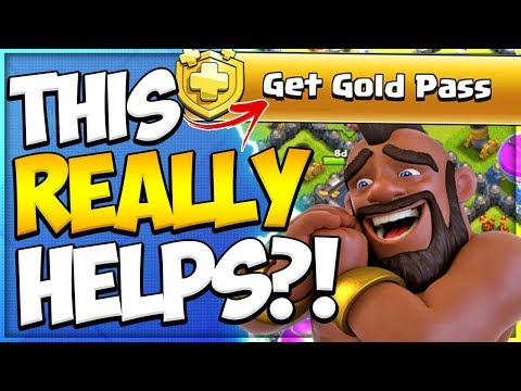 How Much Is The Gold Pass Worth Vs Trader? | Trader Gem Deals Compared In Clash Of Clans