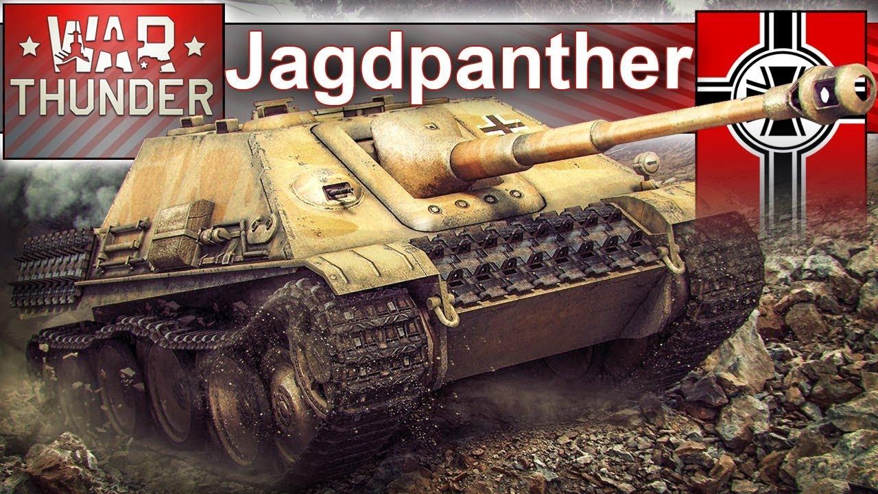 Jagdpanther w bitwie realistycznej – War Thunder