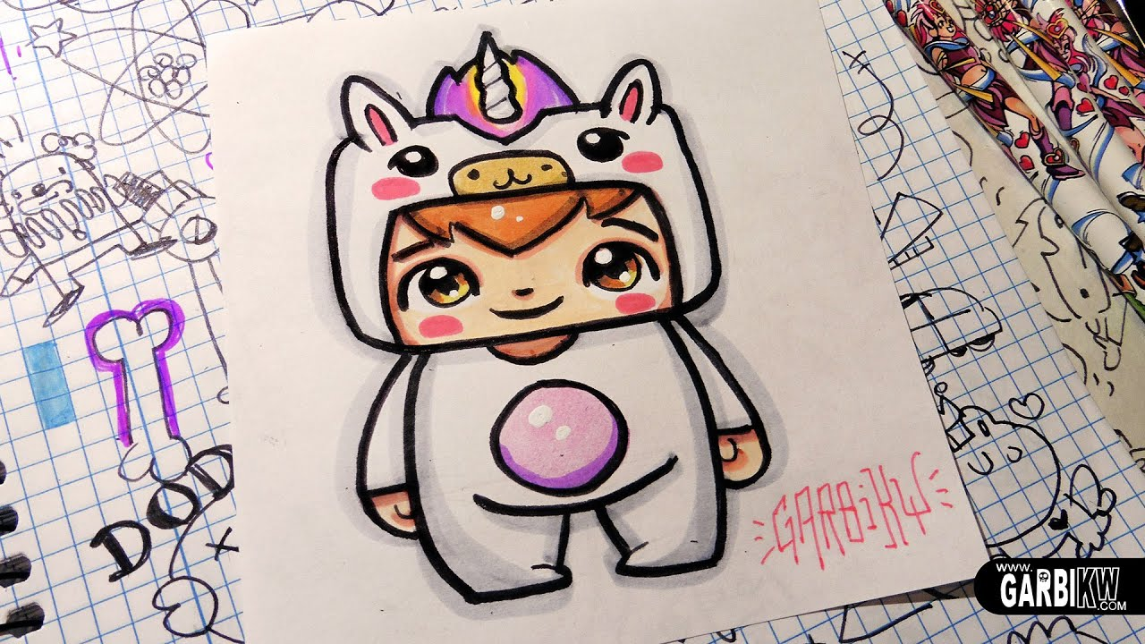 Unicorn Boy How To Draw Chibi And Kawaii Characters By Garbi Kw