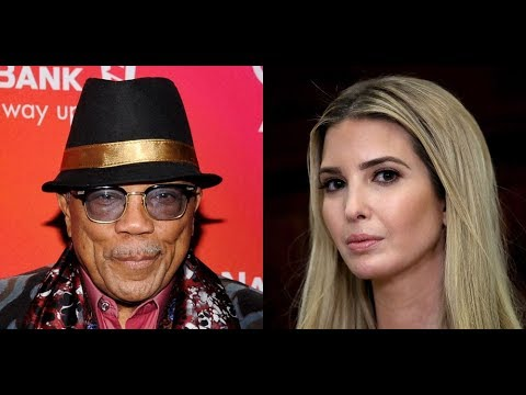 Quincy Jones says he dated Ivanka Trump, Marlon Brando Slept with Marvin Gaye & Richard Pryor, knows