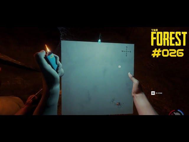 Let's Play The Forest | Höhlenkarte gefunden & Gismu ist ein Mörder | Folge #026