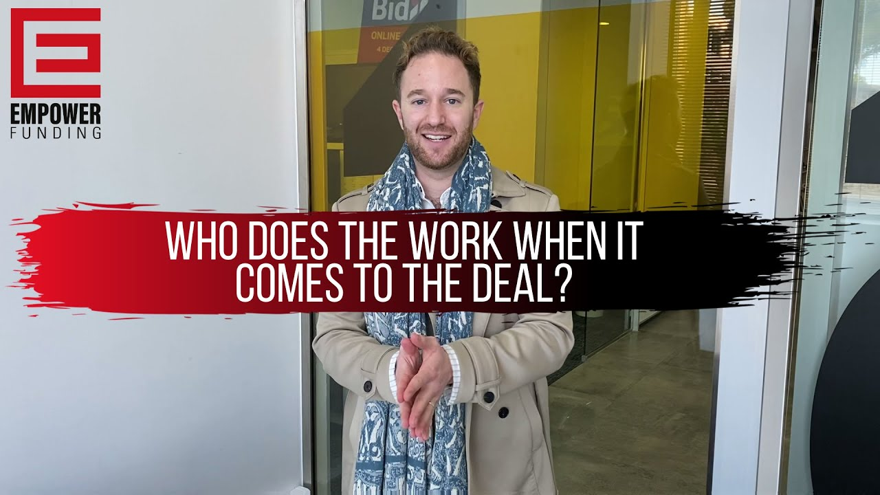 Who Does The Work When It Comes To The Bridging Finance Deal?