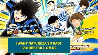 650 DBS ON DC- Captain Tsubasa Dream Team