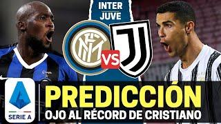 INTER MILAN vs JUVENTUS Derbi de Italia Serie A 2021 Ojo al RÉCORD de Cristiano Ronaldo
